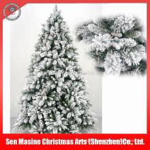 Al por mayor decorativo Floked Snowing PVC Artificial árbol de Navidad