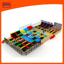 Bounce Indoor Mini Commercial Trampoline Park Arena Center for Adults