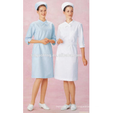 Algodón Poliéster barato 80/20 21 * 21 100 * 53 165GSM Doctor Uniform Fabric