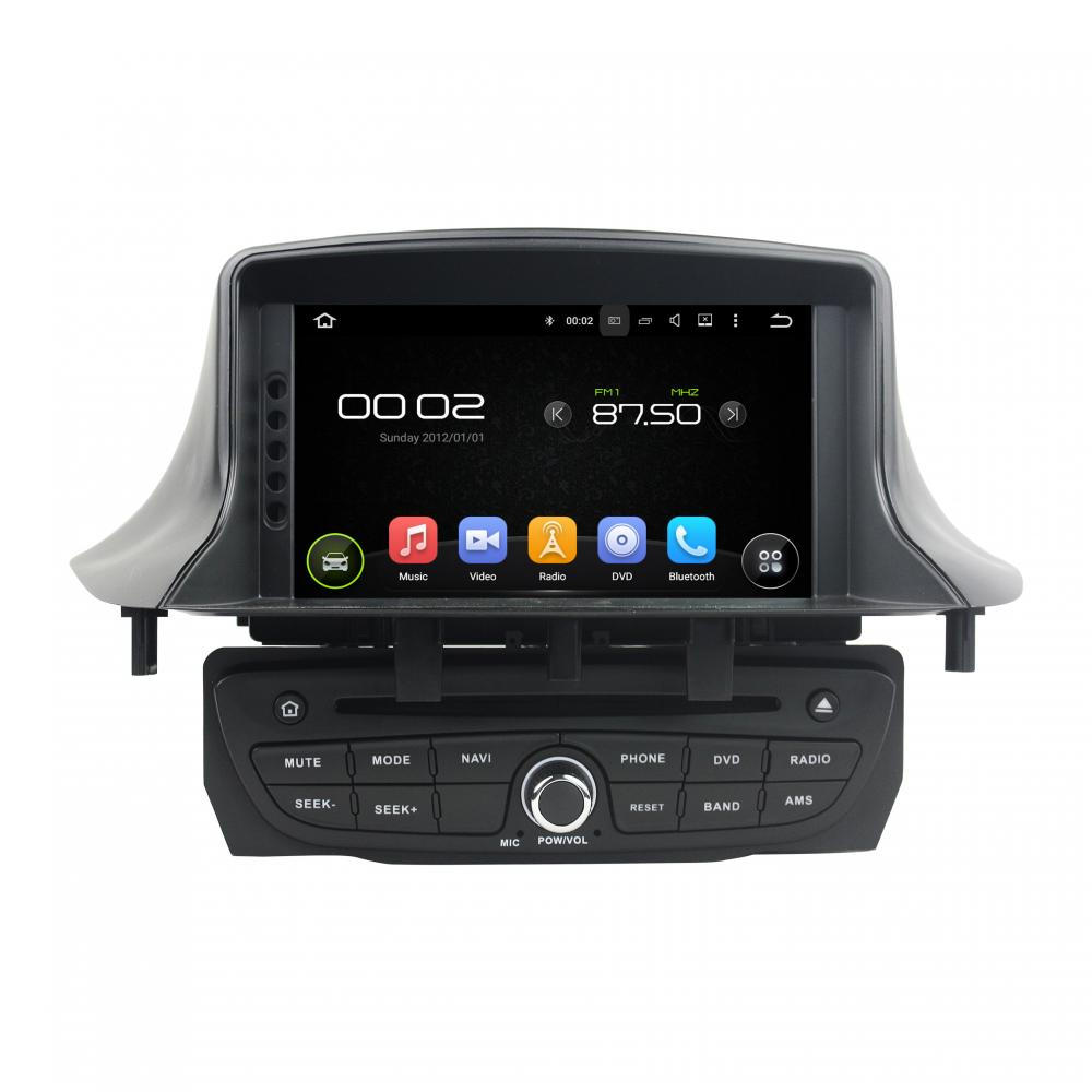 Octa Core Android 6 0 Car Dvd Gps For Renault Fluence Iii