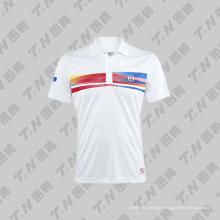 Camiseta de tenis de impresión personalizada Sublimation 2015