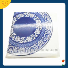 custom blue and white porcelain design souvenir metal fridge magnet