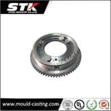 Алюминиевые литые детали для профессионального двойного цилиндрического зубчатого колеса
