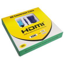 Câble HDMI à VGA 1,8 m (1 m à 5 m)