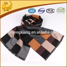 2015 New Design 100% Silk Material Lenço de seda com tecido escovado de seda