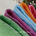 Bamboo Absorbent Kitchen Wash Cloth For Dishes