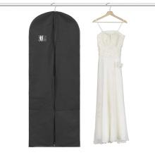 Новейшие Раскладывающейся Пластичная Застежка-Молния Свадебное Платье Мешок Одежды