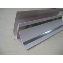 PVC-Ecke - ebene Oberfläche