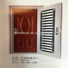 new style high quality stainless steel door with competitive price