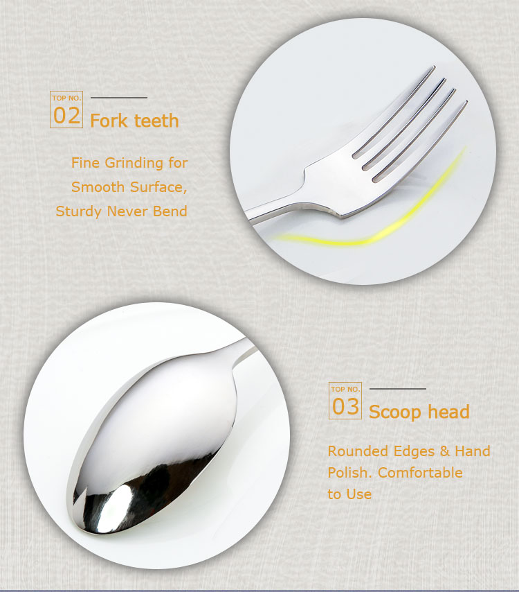 Unique Restaurant 24pcs Cutlery