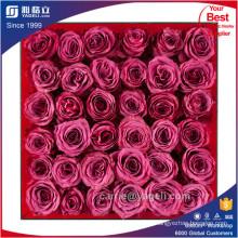 Красивые прозрачные акриловые 9 роз Box Оптовая