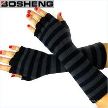 Women′s Warm Winter Knitted Gloves, Fingerless Hand Gloves