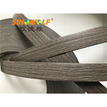 High Quality PVC Woodgrain Edge Banding