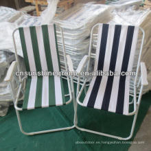 Colorful Striped Steel Folding Beach Chair/Camping Chair For Adult.