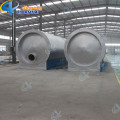 Speciale horizontale reactor plastic olie recycle machine