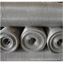 Tela de janela de tecido de fio de aço inoxidável 304