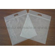 Bolsa de plástico transparente de plástico Ziplock