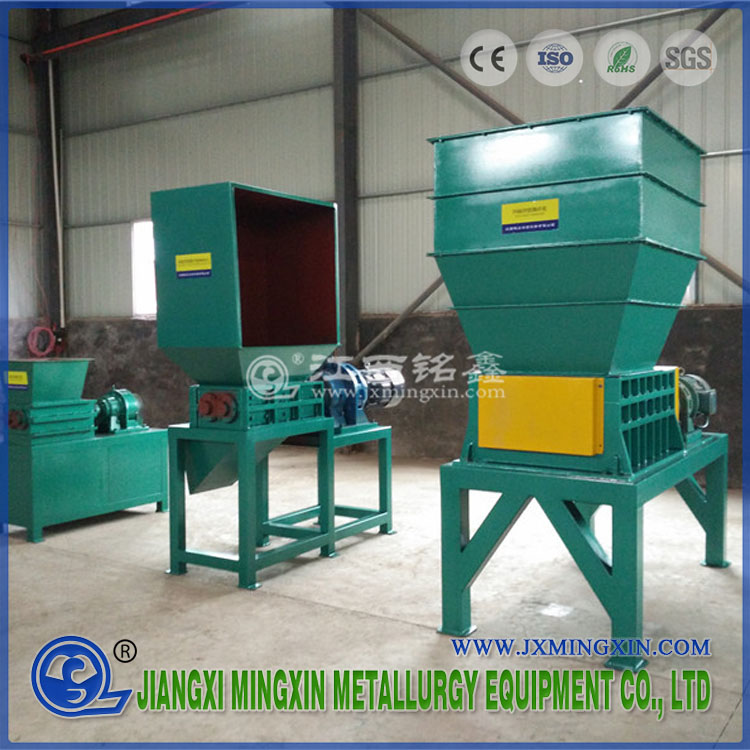 Empat Shaft Industrial Used Car Battery Shredder