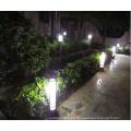 Baliza de iluminación CE de 2015 China solar led luz para al aire libre Casa bolardo jardín iluminación JR-2713