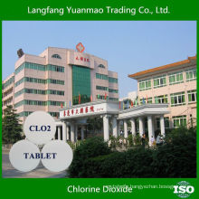 Widely Used Disinfectant Chlorine Dioxide Tablet for Hospital Sewage Water Sterilization