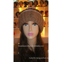 knitted hats with pompon