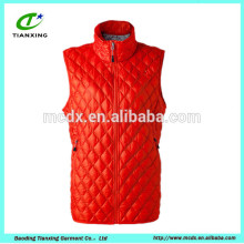 sleeveless goose down feather vest