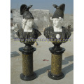 Stone Sculpture Marble Statue Head Bust for Garden Decoration (SY-S315)