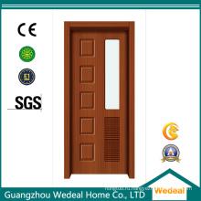 Композитные двери из ламината ПВХ для гостиничного проекта (WDHO45)
