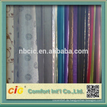 Jacquard Vorhang Stoff hergestellt aus 40 % Polyester 60 % Viskose