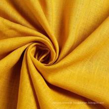 30%Rayon 70%Linen Slub Fabric for Garment