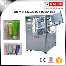 Máquina de llenado y sellado de tubo suave de alta precisión para pasta de dientes