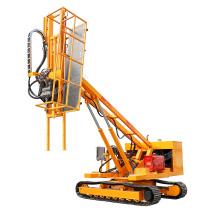 Hengwang 12m  crawler rock drilling rig Slope protection anchor drilling rig