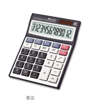12 Digit Dual Power Calculadora de escritorio