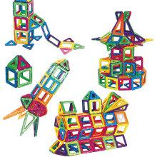 Brinquedos educativos Brinquedo inteligente magnético do bloco de edifício