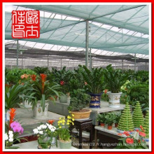 Filet de jardin écologique vert et nuances d'ombre pour jardin et porte parasol