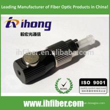 FC UPC adaptador de fibra óptica desnuda