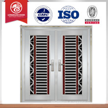 Portão principal porta dianteira design de porta de segurança de aço inoxidável