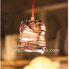 Decoración Arte Creativo Forma de Ratán Lámparas de techo de cerámica
