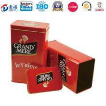 Cupcake Boxes Rectangular Tin Box 80X55X140mm Jy-Wd-2015112746