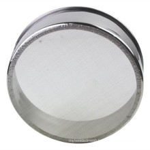 Fine 1 2 5 10 15 20 Micron 304 Stainless Steel Test Sieve For College Laboratory