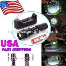 2015 china supplier Wholesales 500 lumen LED flashlight