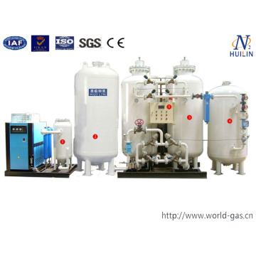 Generador de oxígeno Psa de suministro de China
