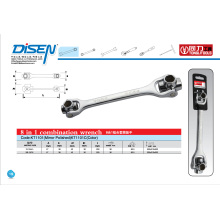 8 in 1 Combination Socket Wrench (KT1101)