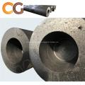 Electrodo de grafito HP UHP 600 mm para planta de acero