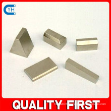 Hecho en China Fabricante y fábrica $ Proveedor Alta calidad Personalizada Ndfeb imanes de diferentes formas