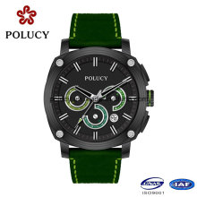 Private Label Mens Carbon Fiber Watch with Chronograph Function