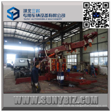Heavy Duty Sliding Rotator 50 Tonnen Abschleppwagen Karosserie