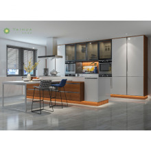 Customized Open Kitchen Furniture Set With Dining Table