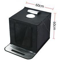 LED USB 60cm/24inch mini photography equipment photo kit lighting box portable folding photo studio for jewelry