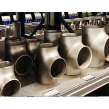 DIN haute qualité ASTM A234 Wp11 Wp12 en alliage d'acier Tee égale